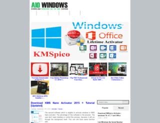 aiowindows.com screenshot