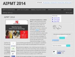 aipmt2013.com screenshot