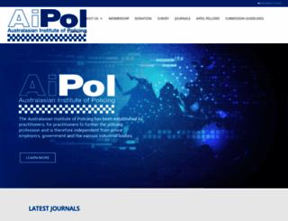 aipol.org screenshot