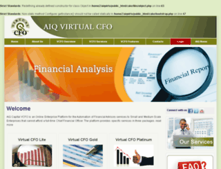 aiq-virtualcfo.com screenshot