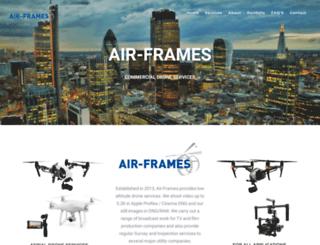 air-frames.co.uk screenshot