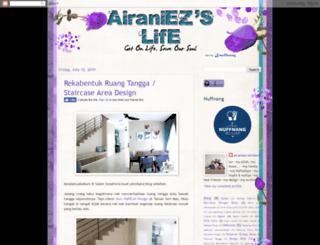 airaniezlife.blogspot.com screenshot
