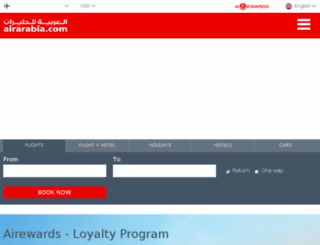airarabia.ae screenshot
