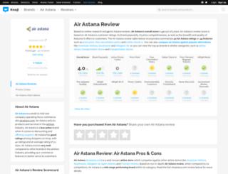 airastana.knoji.com screenshot