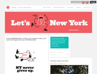 airbnbnycmarathon.com screenshot