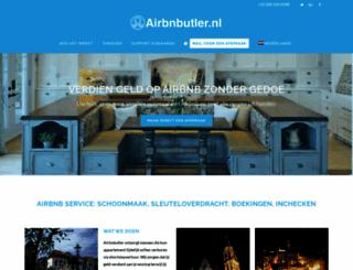 airbnbutler.nl screenshot