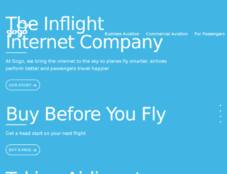 airborne.gogoinflight.com screenshot
