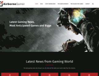airbornegamer.com screenshot
