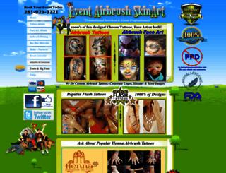 airbrushskinart.com screenshot