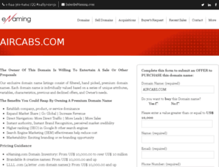 aircabs.com screenshot