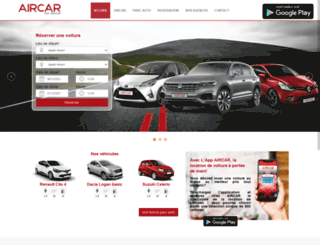 aircar.ma screenshot