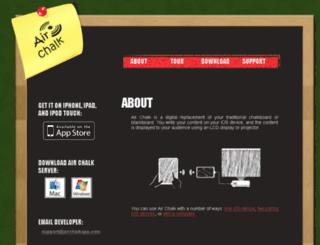 airchalkapp.com screenshot