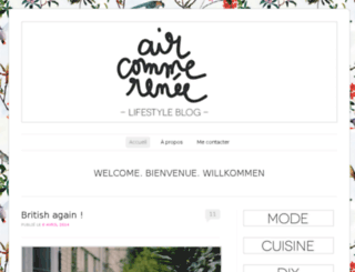 aircommerenee.wordpress.com screenshot