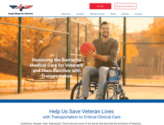 aircompassionforveterans.org screenshot