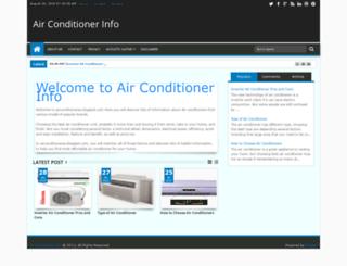 airconditioneres.blogspot.com screenshot