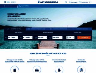 aircorsica.com screenshot