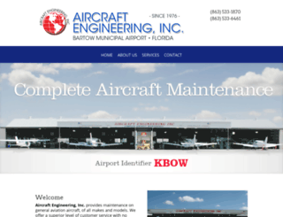 aircraftengineeringinc.com screenshot