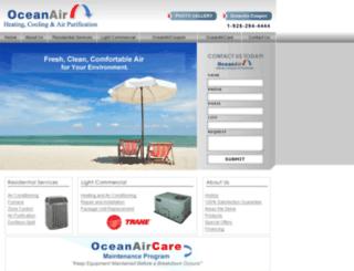 aircraftersairconditioning.com screenshot