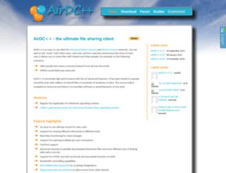 airdcpp.net screenshot