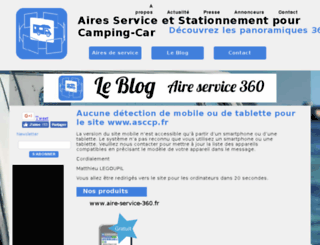 aire-service-camping-car-panoramique.mobi screenshot