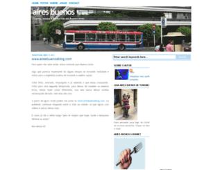 aires-buenos.blogspot.com screenshot