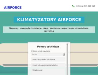 airforce.com.pl screenshot
