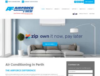 airforceairconditioning.com.au screenshot