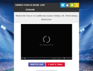 airforcefootballlive.com screenshot