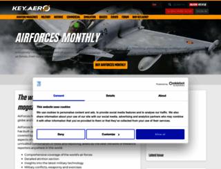 airforcesmonthly.com screenshot