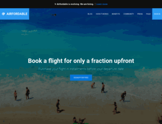 airfordable.co screenshot