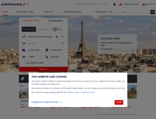 airfrance.ae screenshot