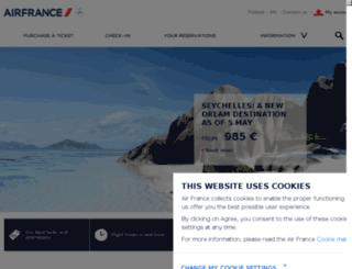 airfrance.fi screenshot