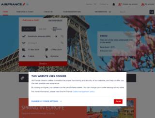 airfrance.se screenshot