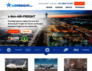 airfreight.com screenshot