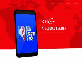 airg.com screenshot