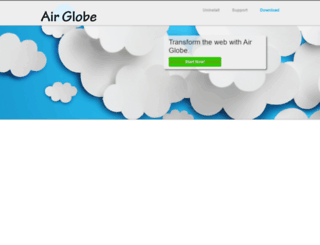 airglobeapp.com screenshot