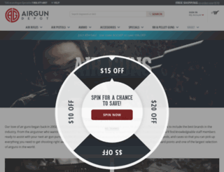 airgundepot.com screenshot