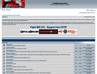 airgunforum.ca screenshot