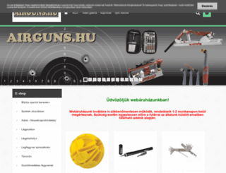 airguns.hu screenshot