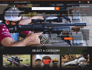 airgunsofarizona.com screenshot