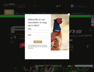 airgunspares.com screenshot
