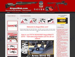 airgunweb.com screenshot