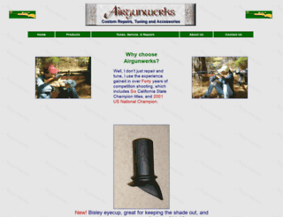 airgunwerks.com screenshot