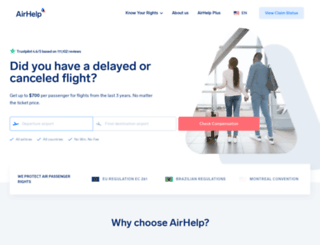airhelp.com screenshot