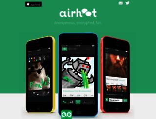 airhoot.com screenshot