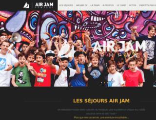 airjamcompany.com screenshot