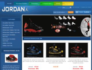 airjordanfootclub.fr screenshot