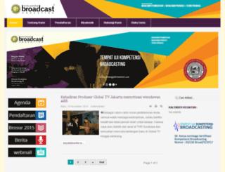airlanggabroadcast.com screenshot