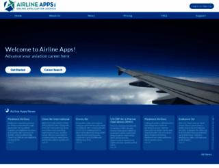 airlineapps.com screenshot