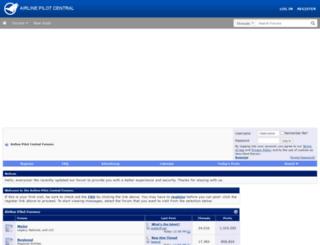 airlinepilotforums.com screenshot
